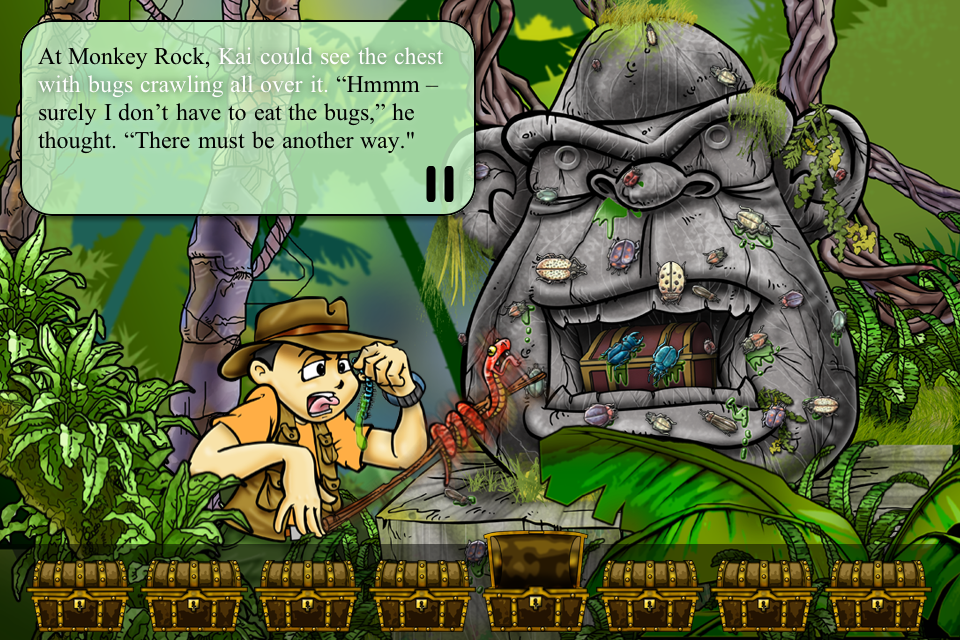 Treasure Kai and the Lost Gold of Shark Island - Educational App