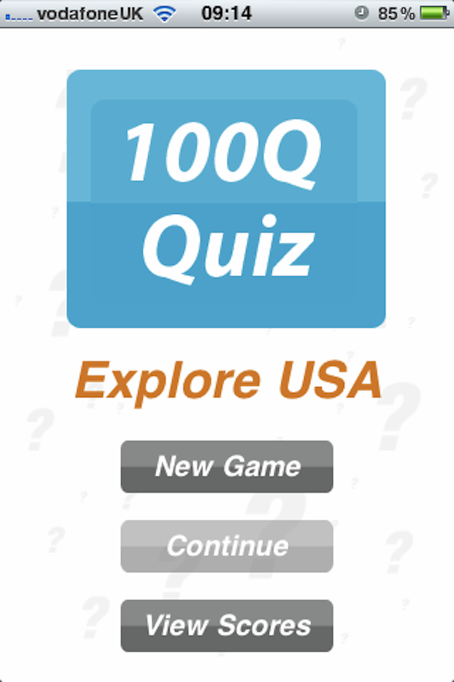 Screenshot Explore USA – 100Q Quiz